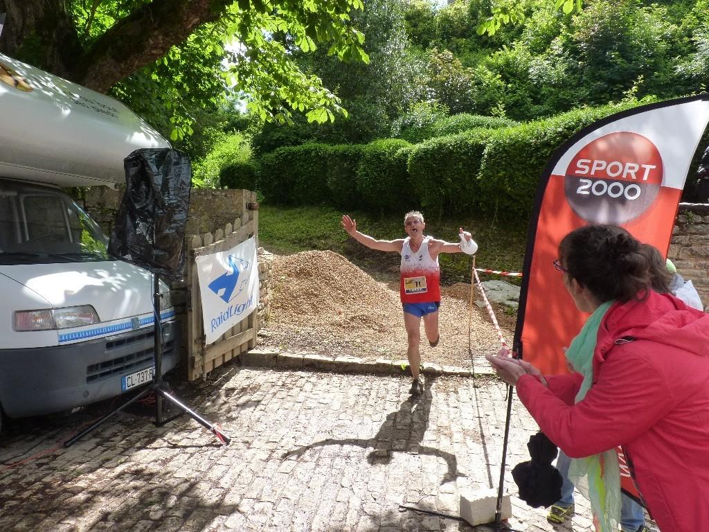 Patrick BELLICOT - 1er Master 3 - 15kms Trail des Cadoles